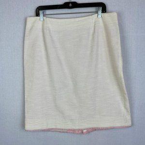 LILY PULITZER Tweed Skirt